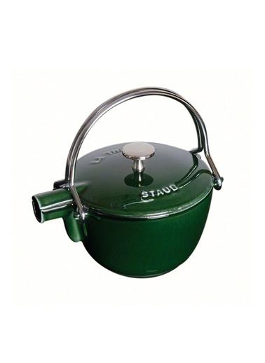 Staub Döküm Demir Çaydanlık Yeşil Yeşil
